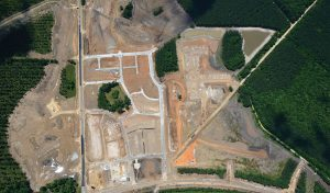Aerial image of Summers Corner development in Summerville, SC