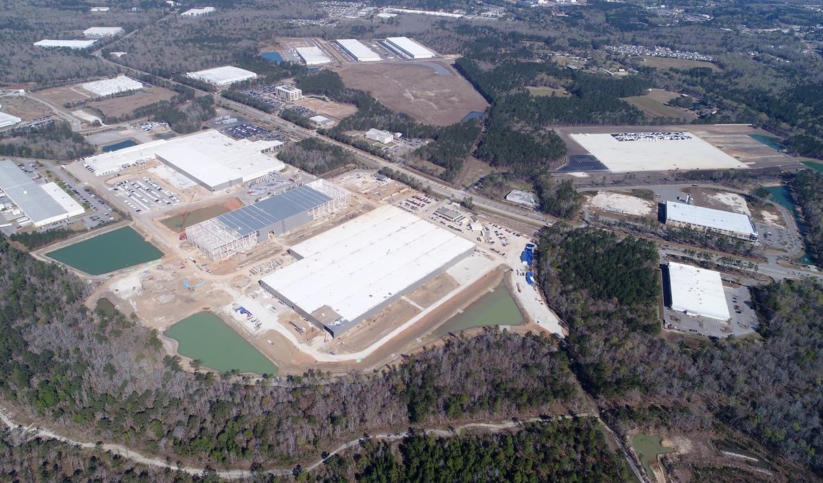 Landmark Construction Company Civil Site Work Project